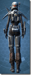 Alliance Hunter - Female Back