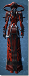 Alliance Inquisitor - Female Back