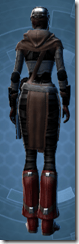 Dark Reaver Agent - Female Back