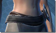 Dark Reaver Agent Female Belt