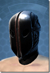 Dark Reaver Agent Male Headgear