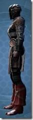 Dark Reaver Agent - Male Left