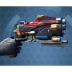 Dark Reaver Combat Medic / Combat Tech / Eliminator / Supercommando Blaster Pistol / Offhand Blaster