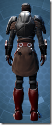 Dark Reaver Hunter - Male Back