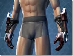 Dark Reaver Hunter Male Gauntlets