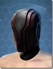 Dark Reaver Hunter Male Helmet