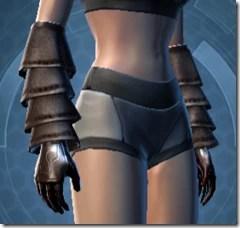 Dark Reaver Inquisitor Female Gloves