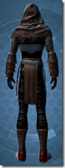 Dark Reaver Inquisitor - Male Back