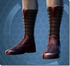 Dark Reaver Inquisitor Male Boots