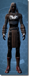 Dark Reaver Inquisitor - Male Front