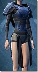 Dark Reaver Knight Female Vest