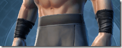Dark Reaver Knight Male Bracers
