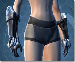 Dark Reaver Trooper Female Gloves