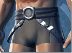 Dark Reaver Trooper Male Belt