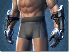 Dark Reaver Trooper Male Gauntlets