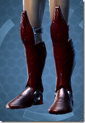 Dark Reaver Warrior Male Boots