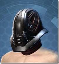Dark Reaver Warrior Male Headgear