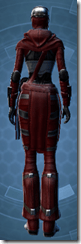 Deceiver Agent Imp - Female Back