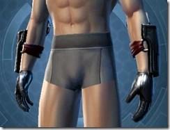 Deceiver Agent Imp Male Gloves