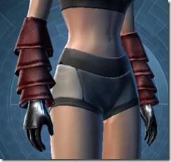 Deceiver Inquisitor Female gloves
