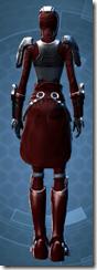 Deceiver Trooper - Female Back