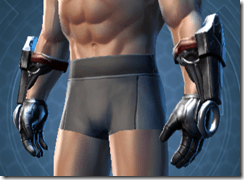 Deceiver Trooper Male Gauntlets
