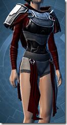 Deceiver Warrior Female Body Armor