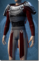 Deceiver Warrior Male Body Armor