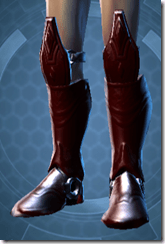 Deceiver Warrior Male Body Boots