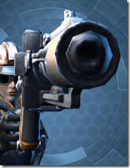 Exhumed Blaster Pistol - Front
