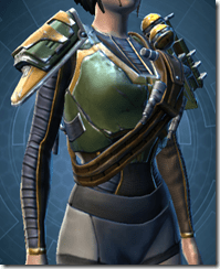 Exhumed Hunter Female Body Armor