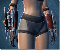 Exhumed Hunter Female Gloves