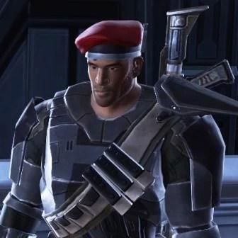 Toochka's Lieutenant Pierce – The Harbinger