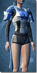 Massassi Trooper Female Bodt Armor