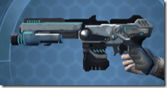 RK-7 Starforged Blaster - Left