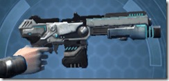 RK-7 Starforged Blaster - Right