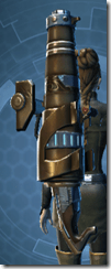 Raider's Cove Assault Cannon - Stowed