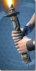 Raider's Cove Lightsaber - Front