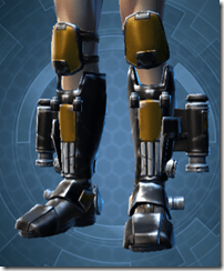 Resurrected Hunter Male Boots