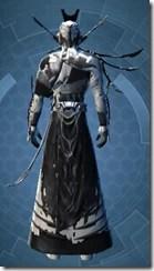 Resurrected Inquisitor - Male Back