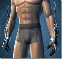 Resurrected Inquisitor Male Gloves