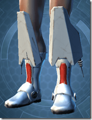 Resurrected Trooper Male Boots