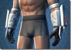 Resurrected Trooper Male Gauntlets