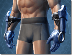 Revanite Knight Male Gloves