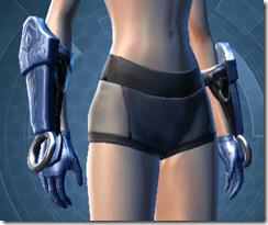 Revanite Trooper Female Gauntlets