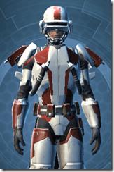 Shield Warden - Male Close