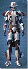 Shield Warden - Male Front