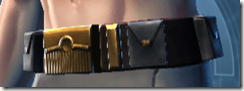 Sky Ridge Smuggler Male Belt