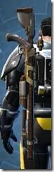 Trimantium Blaster Rifle - Stowed