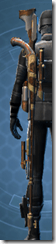 Trimantium Sniper Rifle - Stowed